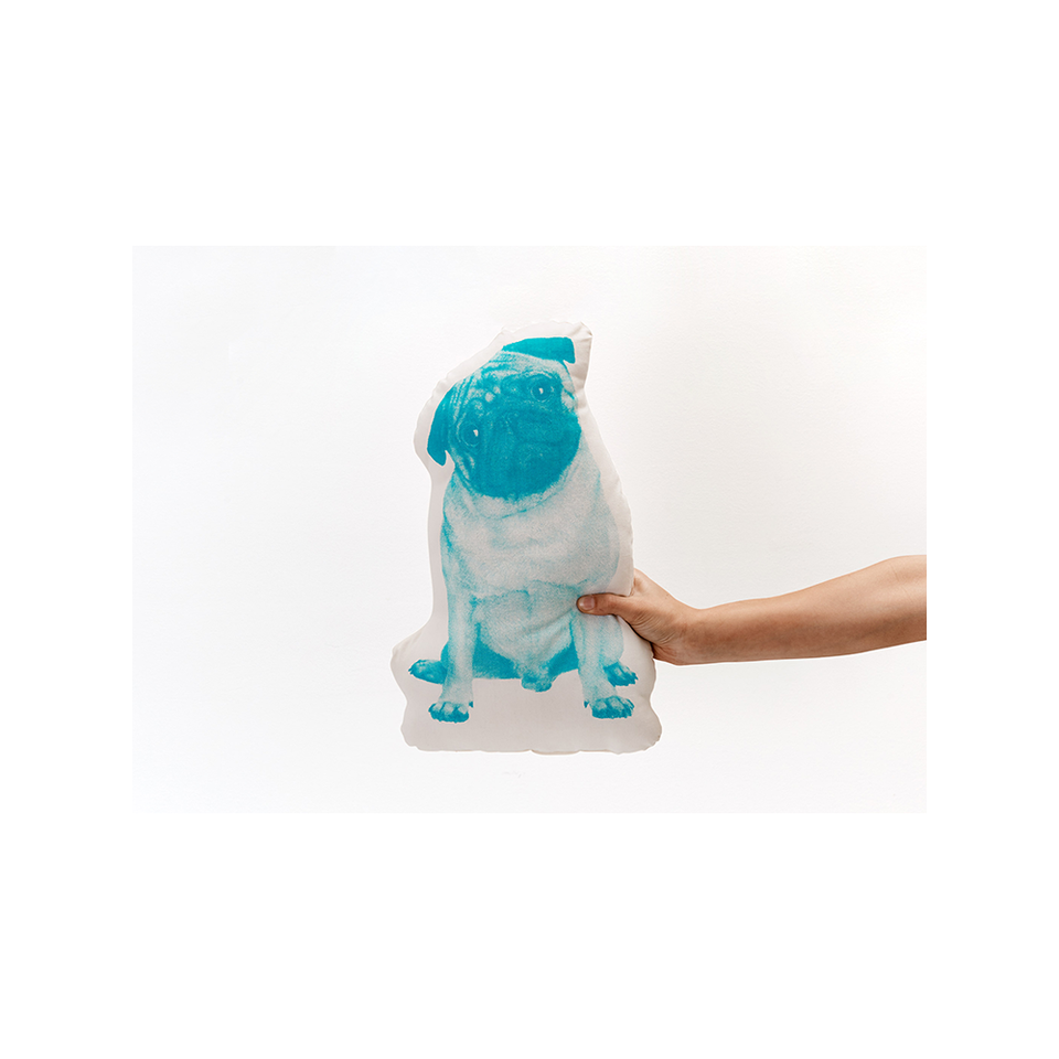AREAWARE AW Fauna Pop Cushion - Pug | the OBJECT ROOM
