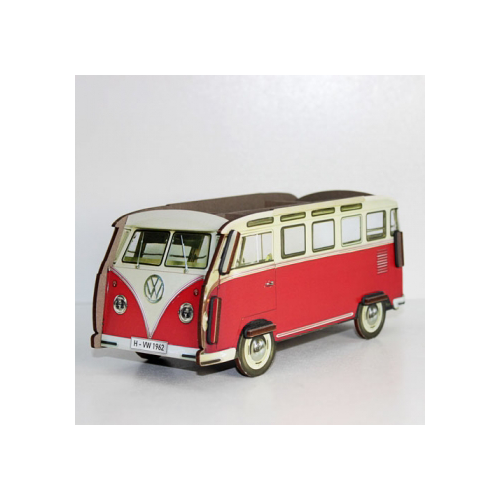 WERKHAUS Photo Pen Box VW - Red | the OBJECT ROOM