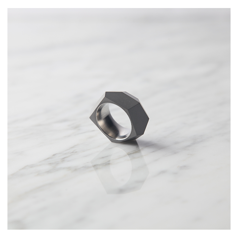 22 DESIGN STUDIO 22DS Concrete Ring - Rock | the OBJECT ROOM