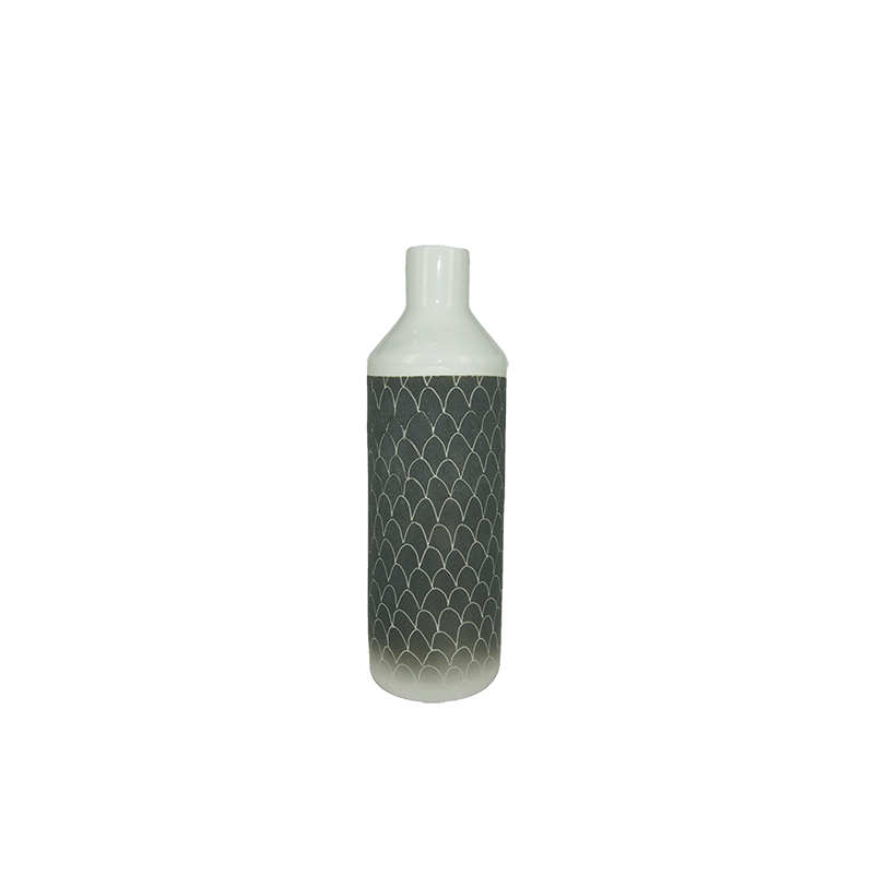 ISMAËL CARRÉ Small Bottle Vase - Black | the OBJECT ROOM