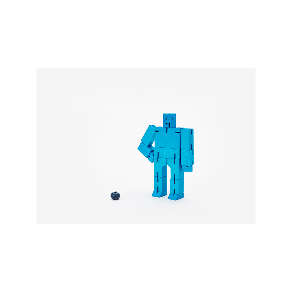 AREAWARE AW Cubebot Small - Blue | the OBJECT ROOM