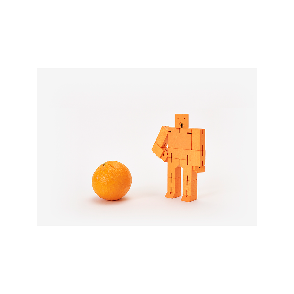 AREAWARE AW Cubebot Small - Orange | the OBJECT ROOM