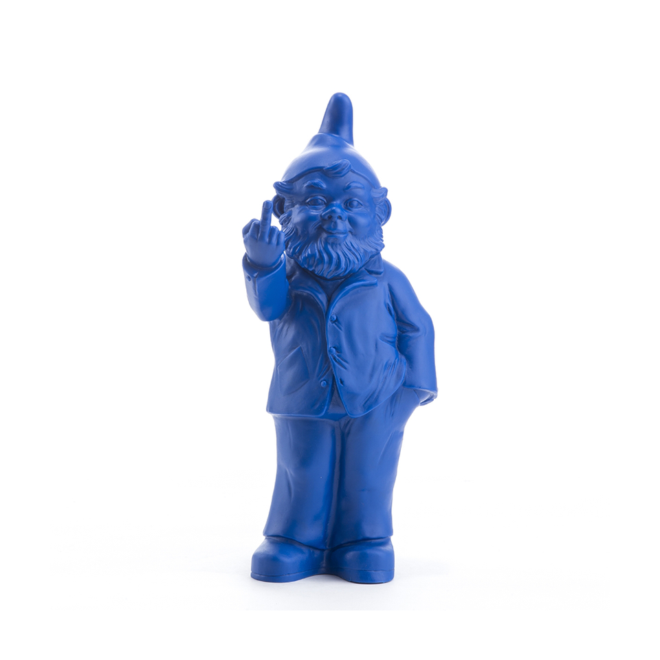 OTTMAR HÖRL Sponti Activist Gnome - Blue | the OBJECT ROOM