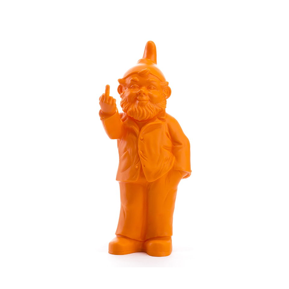 OTTMAR HÖRL OH Sponti Activist Gnome - Orange | the OBJECT ROOM
