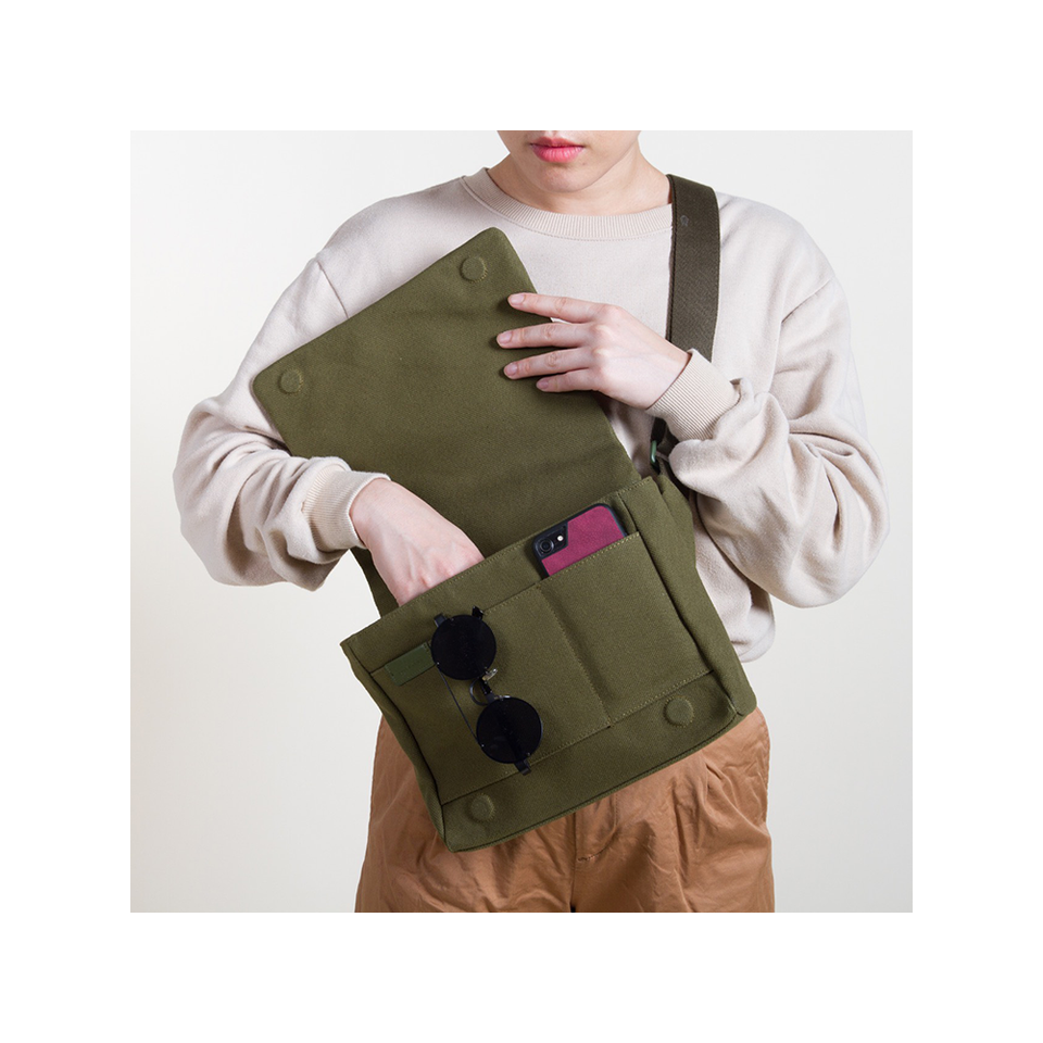 KORIDEER HOP Crossbody Bag - Forest Green | the OBJECT ROOM