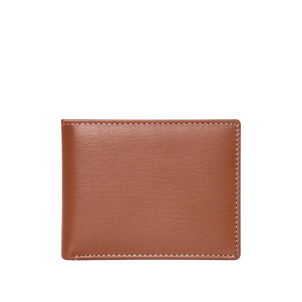 STEWART/STAND Leather SS Wallet - Bill Fold Tan | the OBJECT ROOM