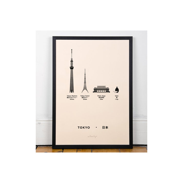 ME&HIM&YOU Screen Print - Tokyo | the OBJECT ROOM
