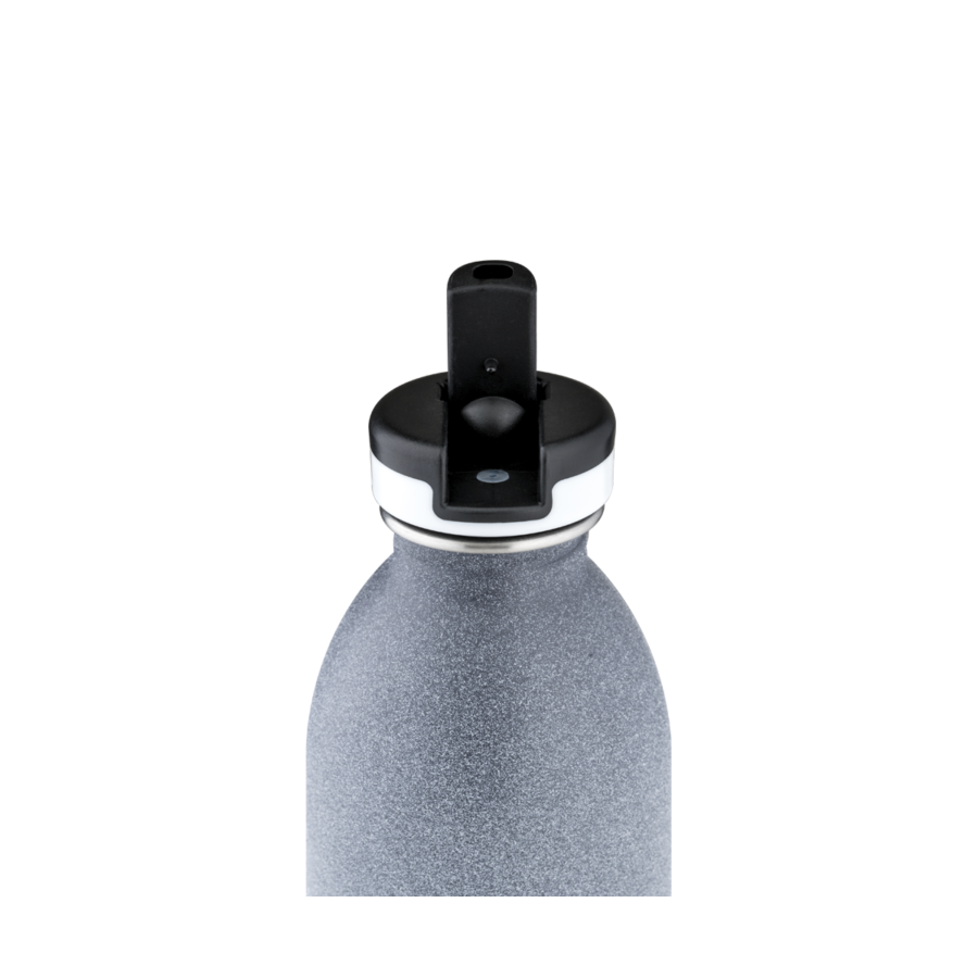 24BOTTLES Urban Bottle 0.5L Sport Lid - Tempo Grey | the OBJECT ROOM