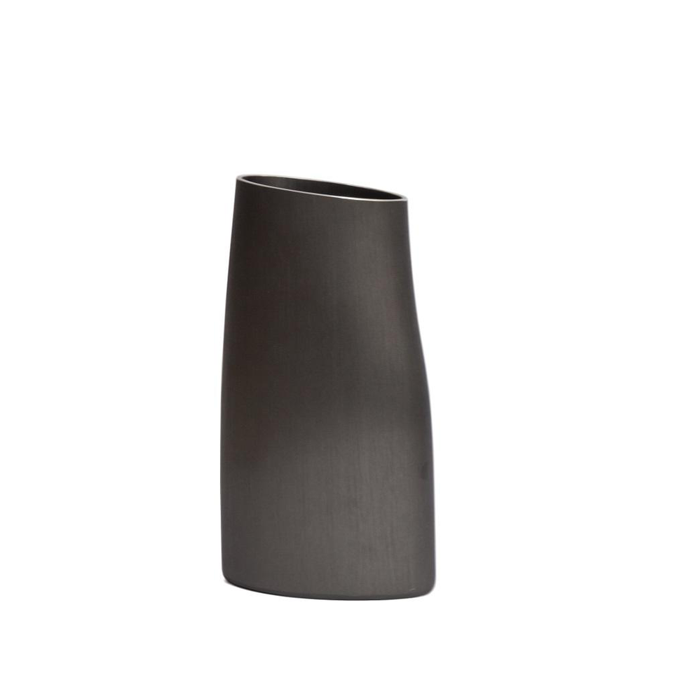 FINK Aluminium Vase - Winter Charcoal Medium | the OBJECT ROOM
