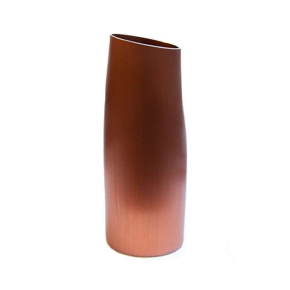 FINK Aluminium Vase - Autumn Copper Large | the OBJECT ROOM