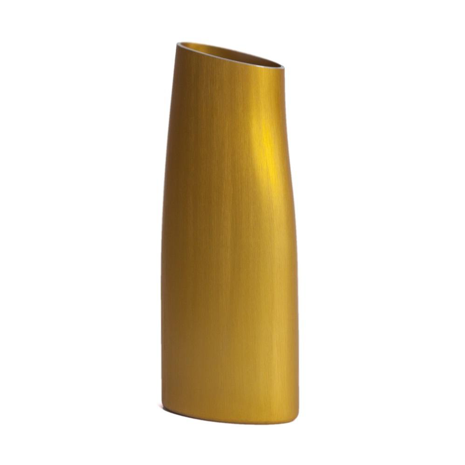 FINK Aluminium Vase - Summer Gold Large | the OBJECT ROOM