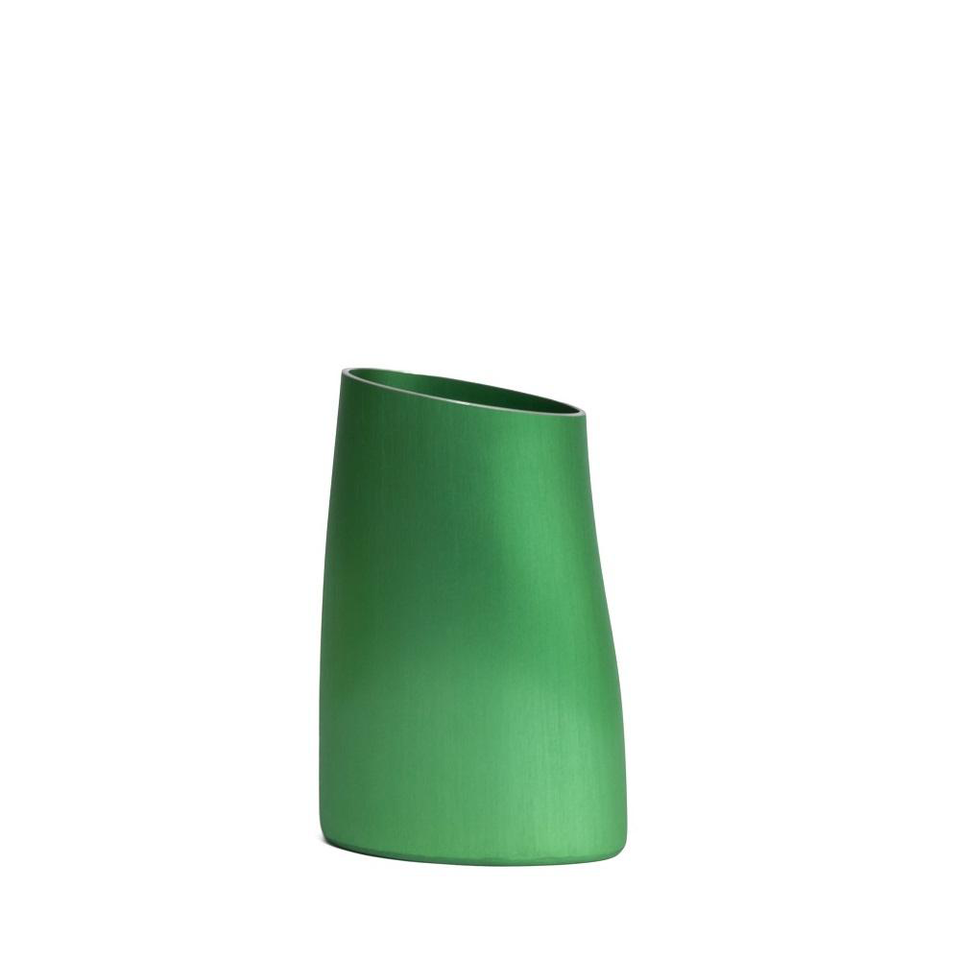 FINK Aluminium Vase - Spring Green Small | the OBJECT ROOM