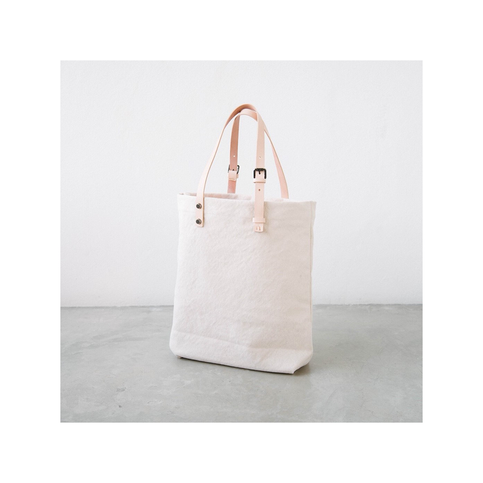 NIN LIFESTYLE NL The Steinbeck Tote - Simply White | the OBJECT ROOM