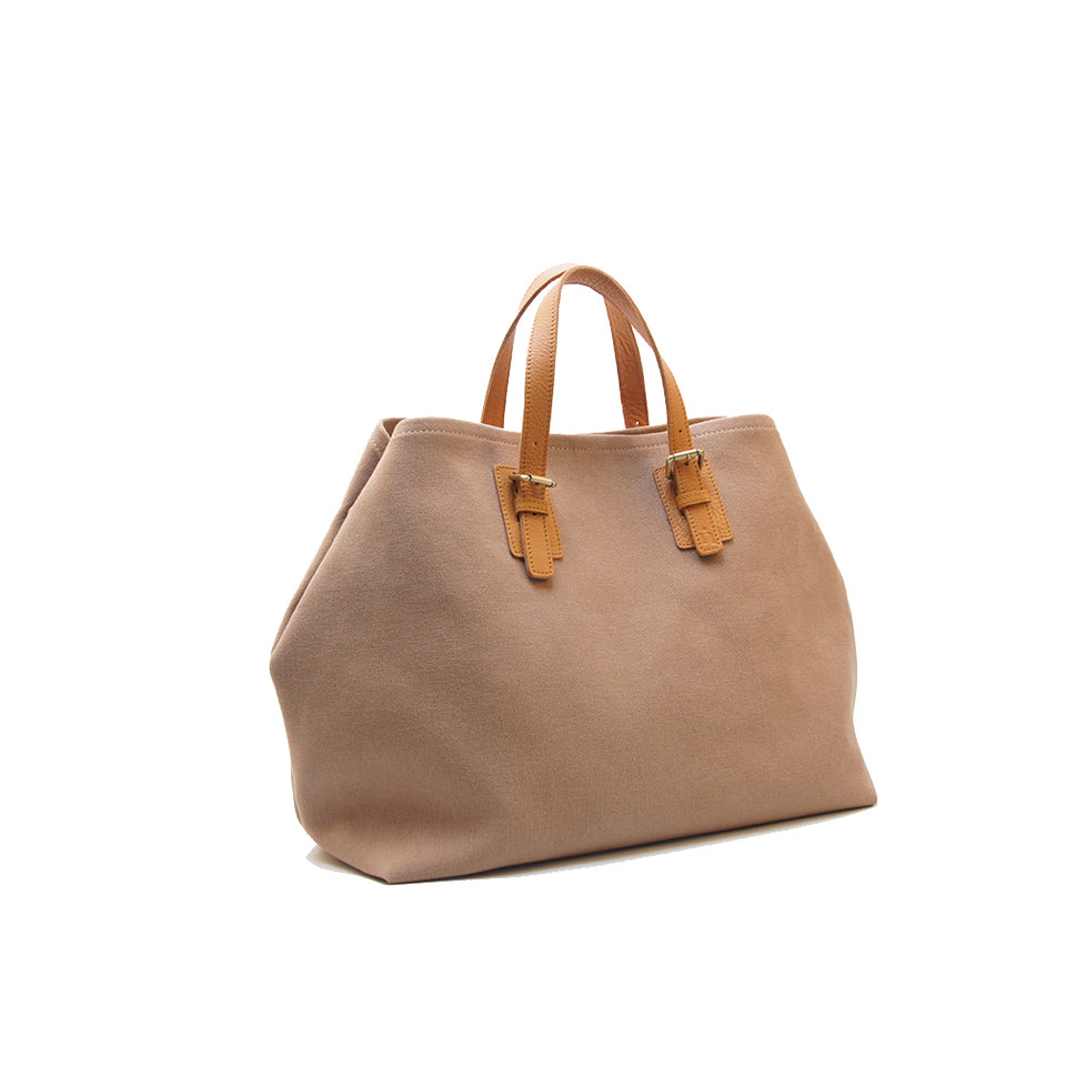 NIN LIFESTYLE The Wilde Tote - Mocha Brown