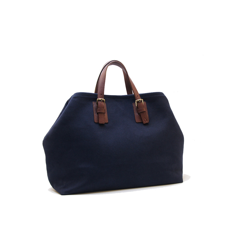 NIN LIFESTYLE The Wilde Tote - Navy Blue