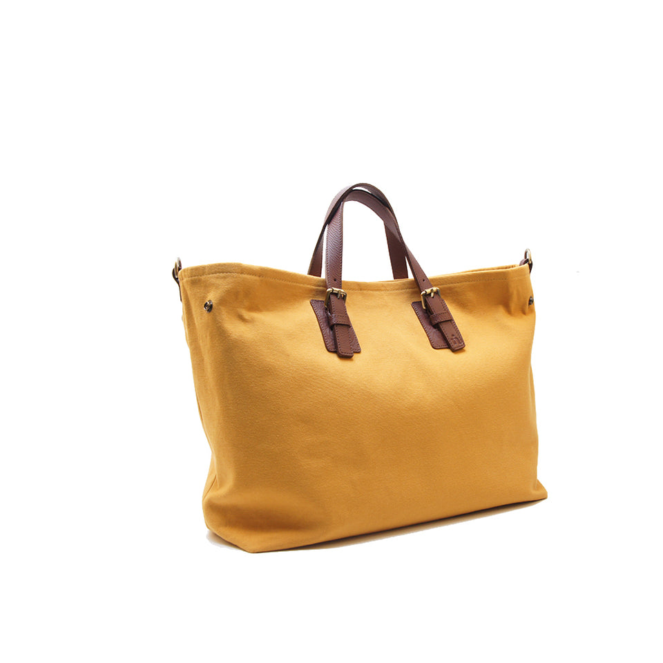 NIN LIFESTYLE The Wilde Tote - Saffron Yellow
