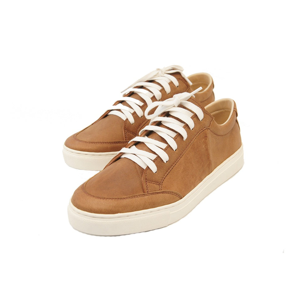THE REMAKER Leather Sneakers - Bangkokian Brown