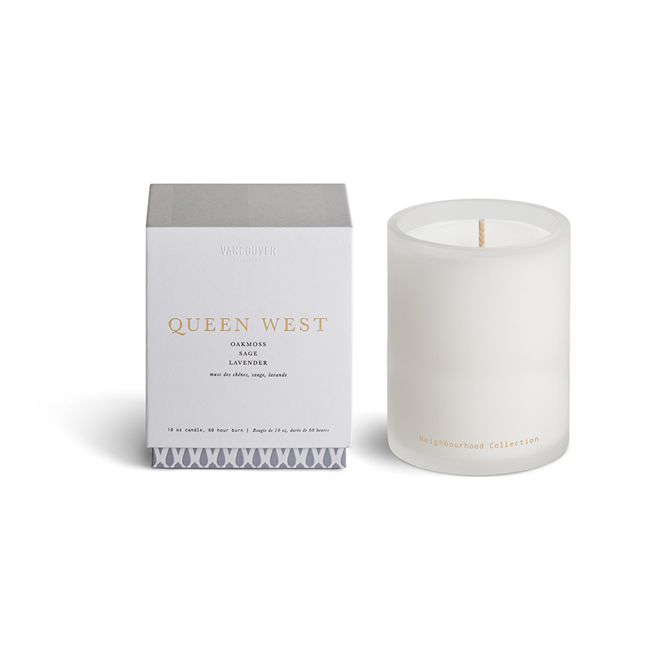 VANCOUVER CANDLE CO. Neighbourhood Collection Single Wick Candle - QUEEN WEST