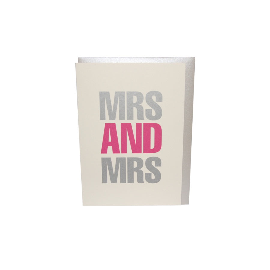 BOB'S YOUR UNCLE Card - MRS & MRS