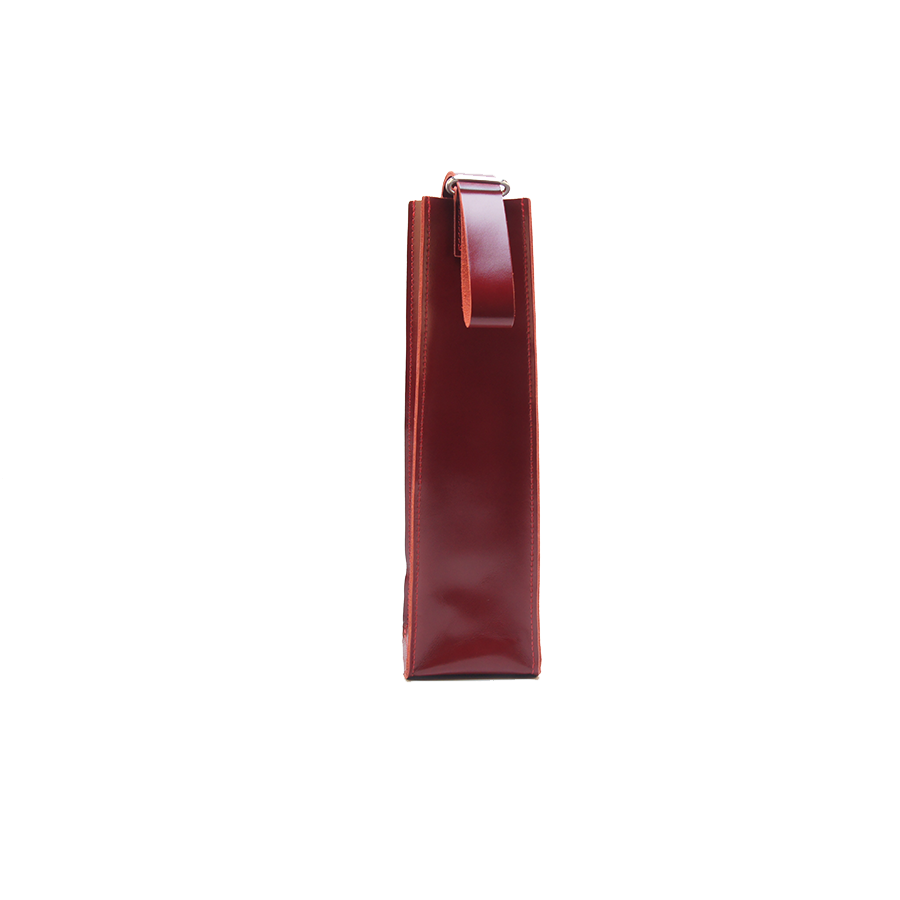 GOODJOB Wine Holder Bag Towering - Leather Red
