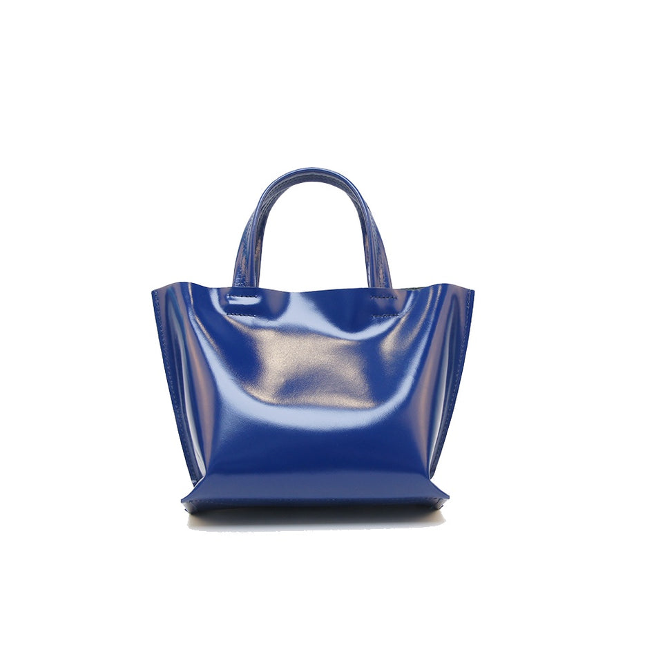 GOODJOB Handbag MONO XS - Leather Blue