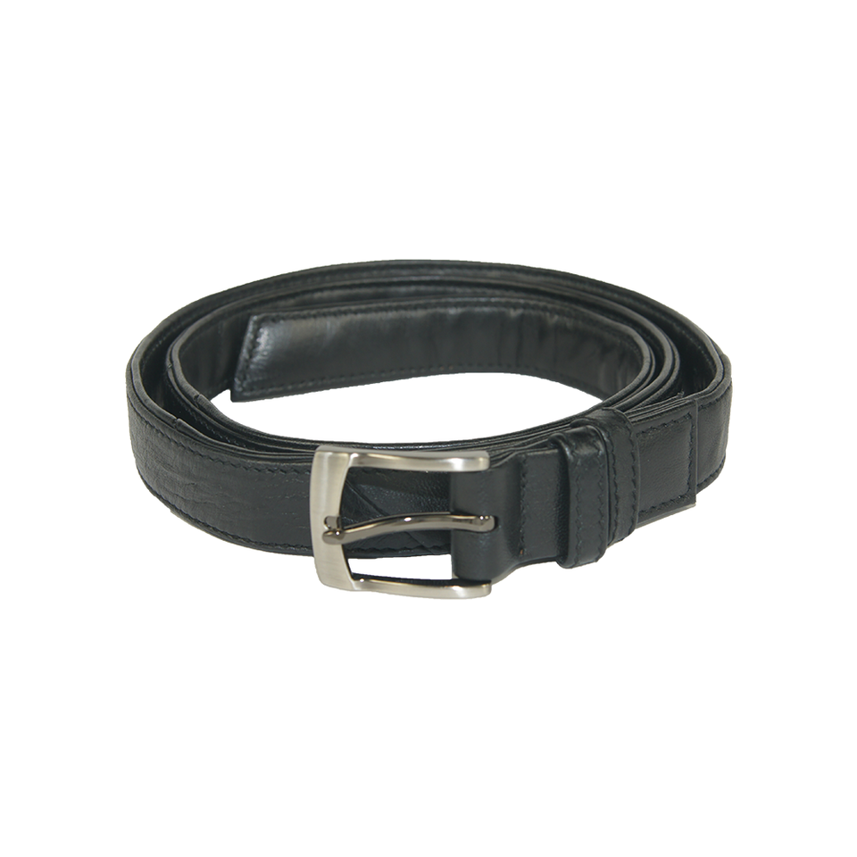 THE REMAKER Leather Belt - Silk Road Black | the OBJECT ROOM