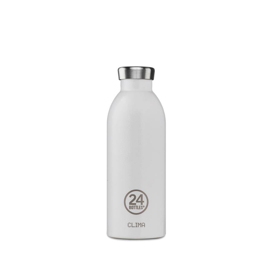 24BOTTLES Clima Bottle 0.5L - Arctic White | the OBJECT ROOM