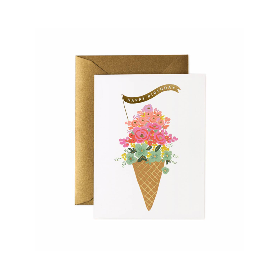RIFLE PAPER CO. Card - Ice Cream Birthday | the OBJECT ROOM