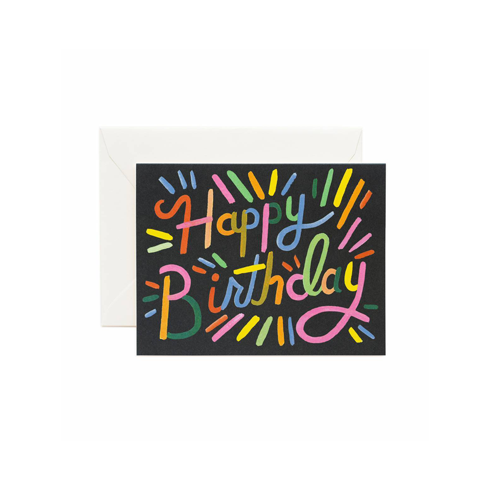 RIFLE PAPER CO. Card - Fireworks Birthday | the OBJECT ROOM