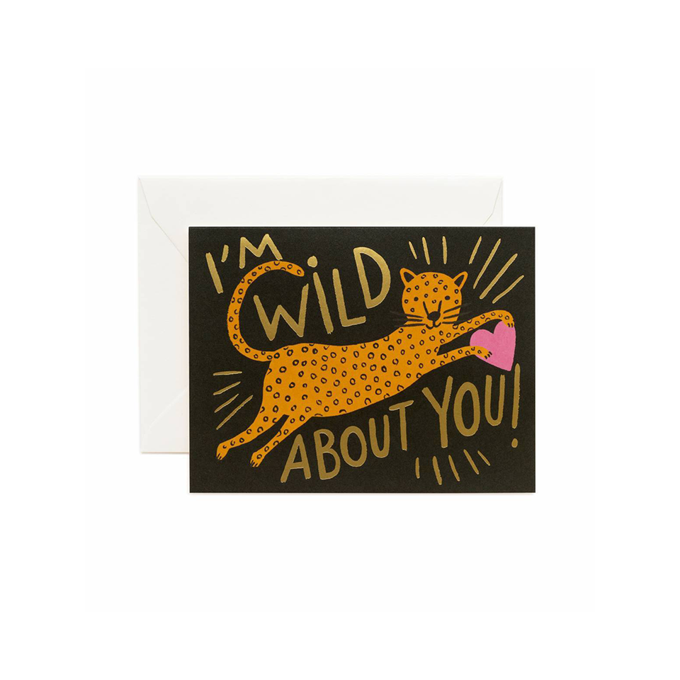 RIFLE PAPER CO. Card - Wild About You | the OBJECT ROOM