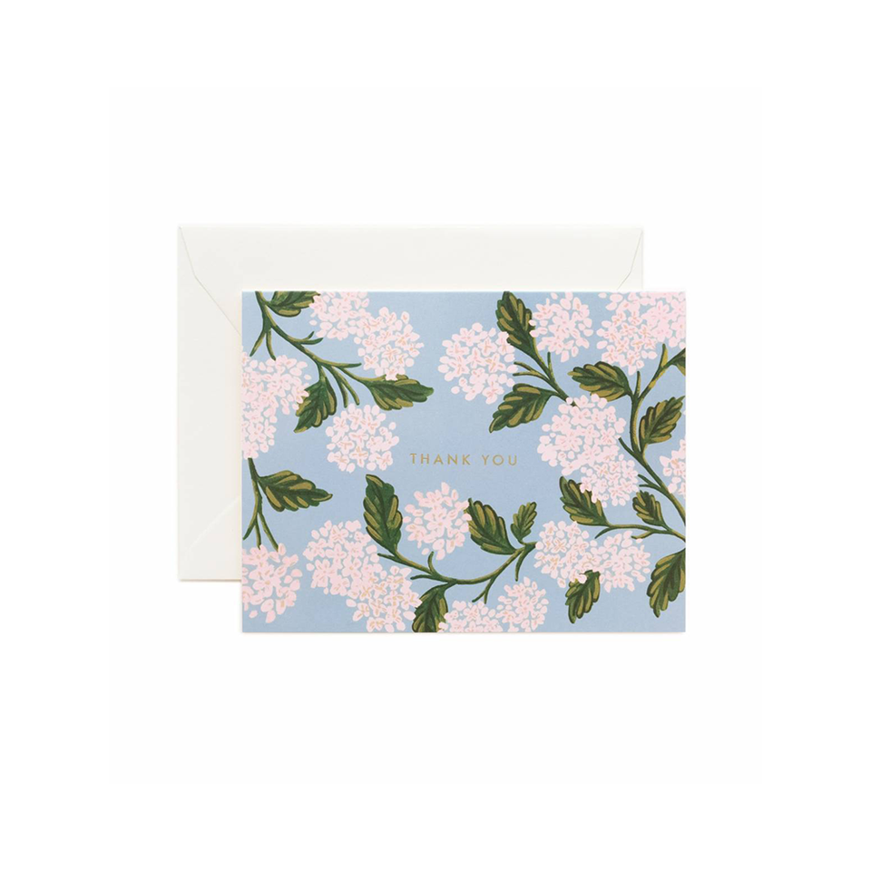 RIFLE PAPER CO. Card - Hydrangea Thank You | the OBJECT ROOM