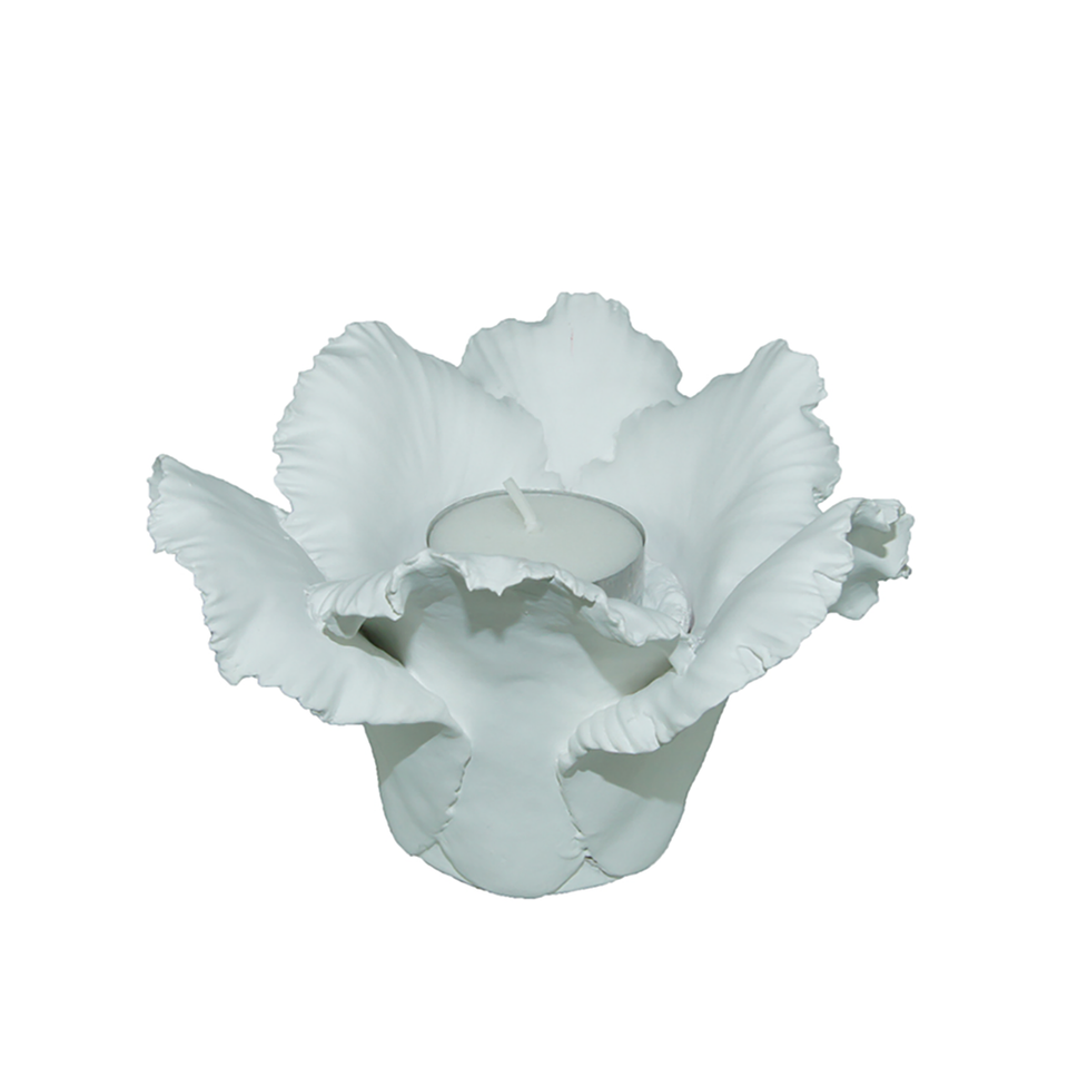 KIDDEE TAMDEE Daffodil Candle Holder - White | the OBJECT ROOM