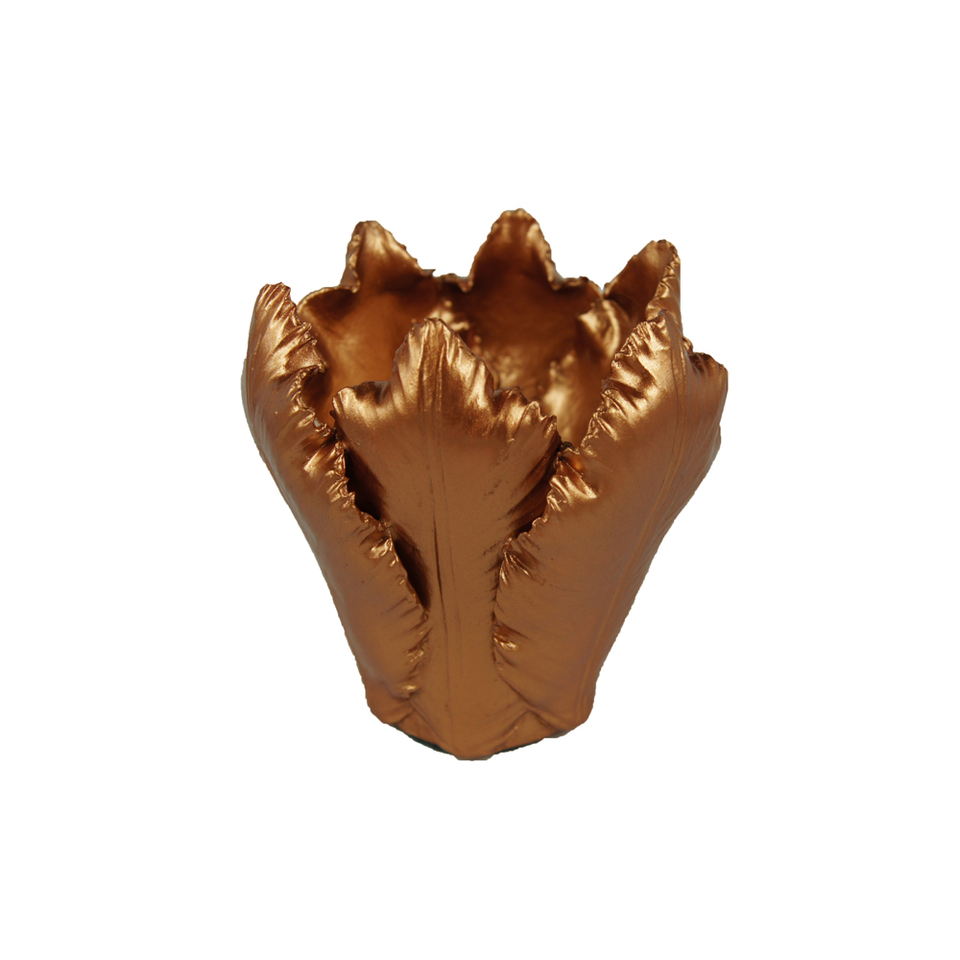 KIDDEE TAMDEE Leaf Candle Holder S - Copper | the OBJECT ROOM