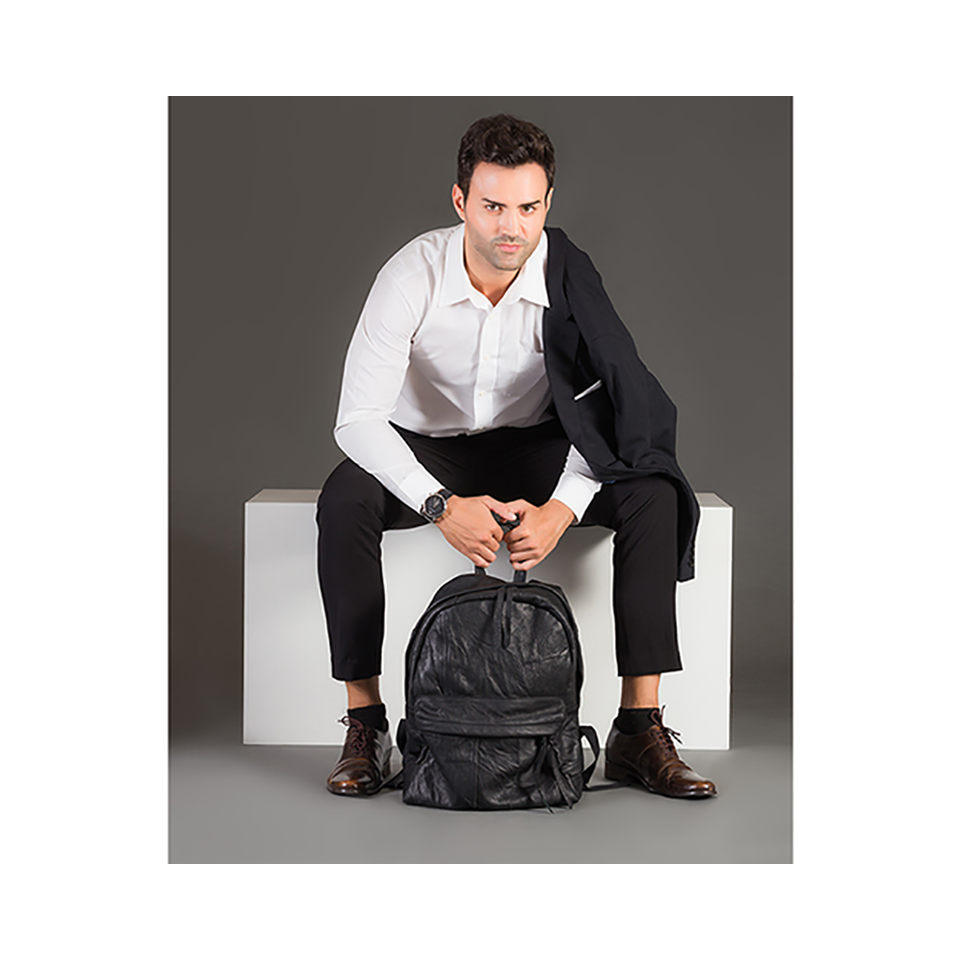 THE REMAKER Leather Bag - Louvre Backpack M | the OBJECT ROOM
