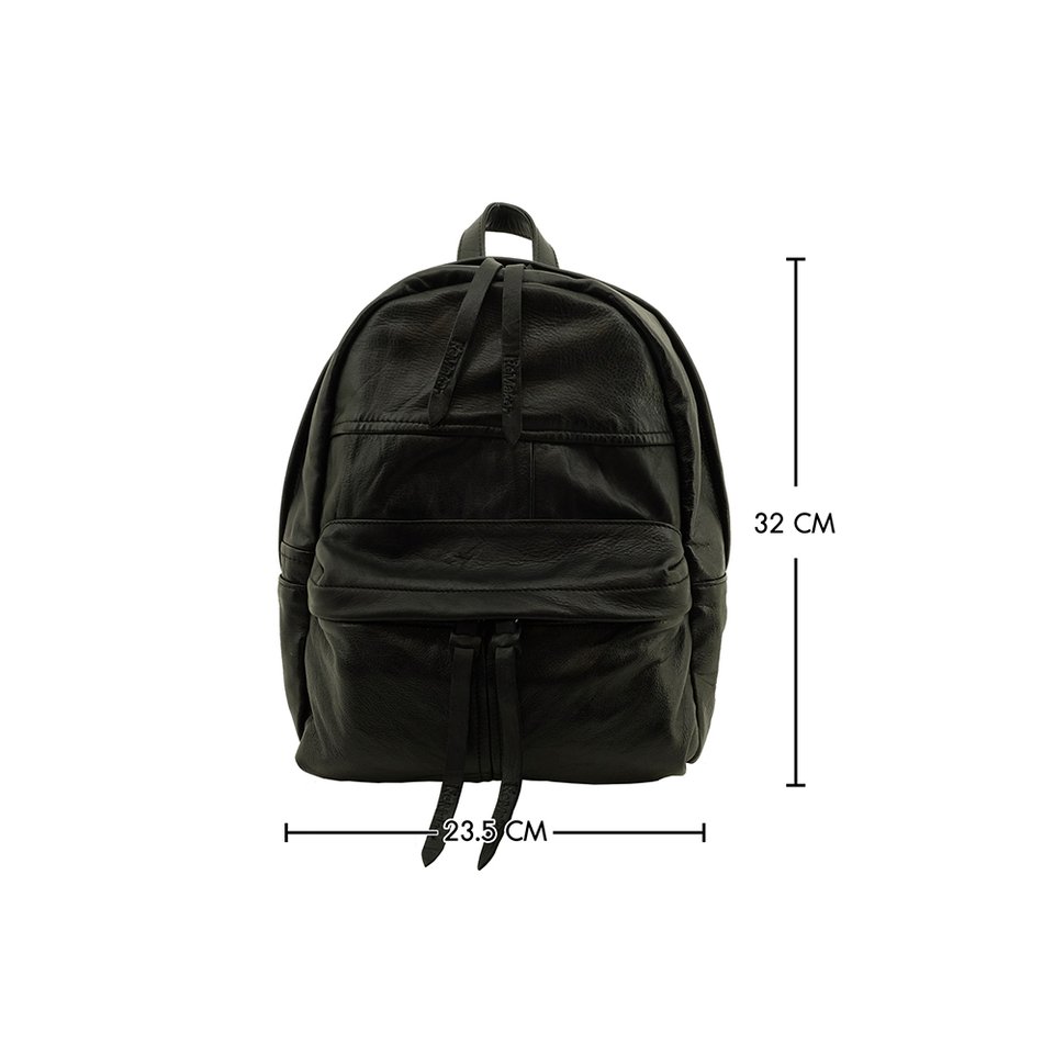 THE REMAKER Leather Bag - Louvre Backpack S - the OBJECT ROOM