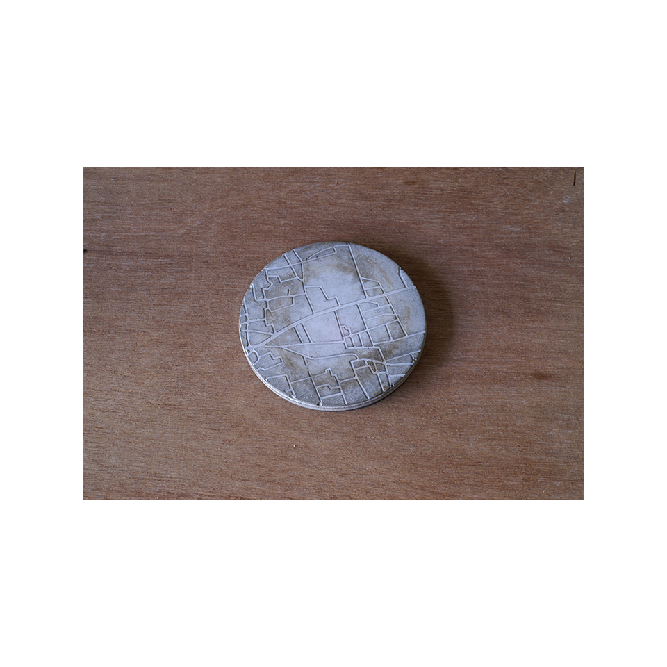 PULL PUSH PRODUCTS Map Coaster | the OBJECT ROOM