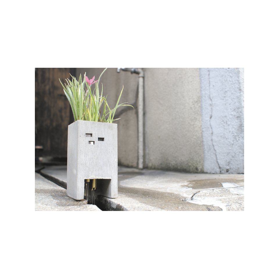 PULL PUSH PRODUCTS PU Pipe Planter | the OBJECT ROOM