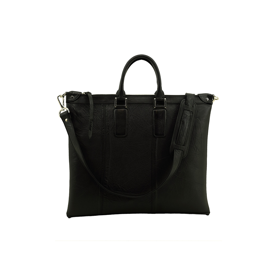 THE REMAKER Leather Bag - Singapore Briefcase | the OBJECT ROOM