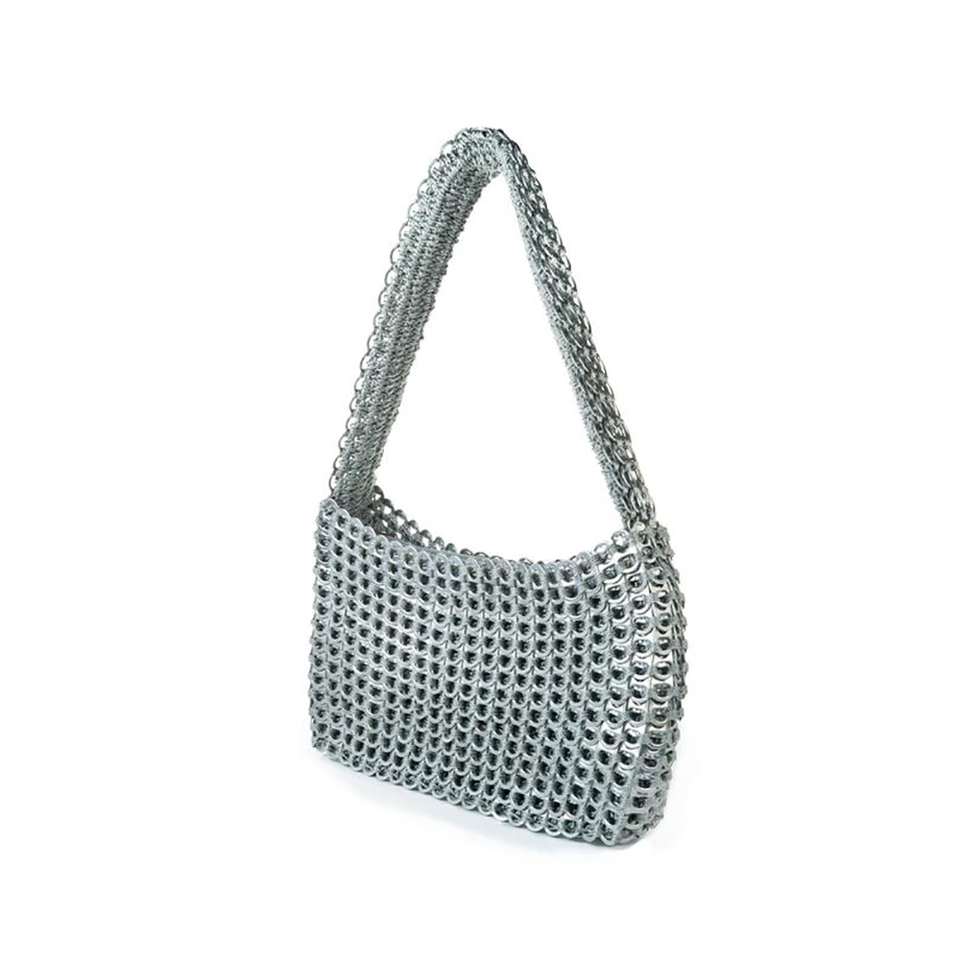 ESCAMA STUDIO Socorro Medium Shoulder Bag - Silver | the OBJECT ROOM