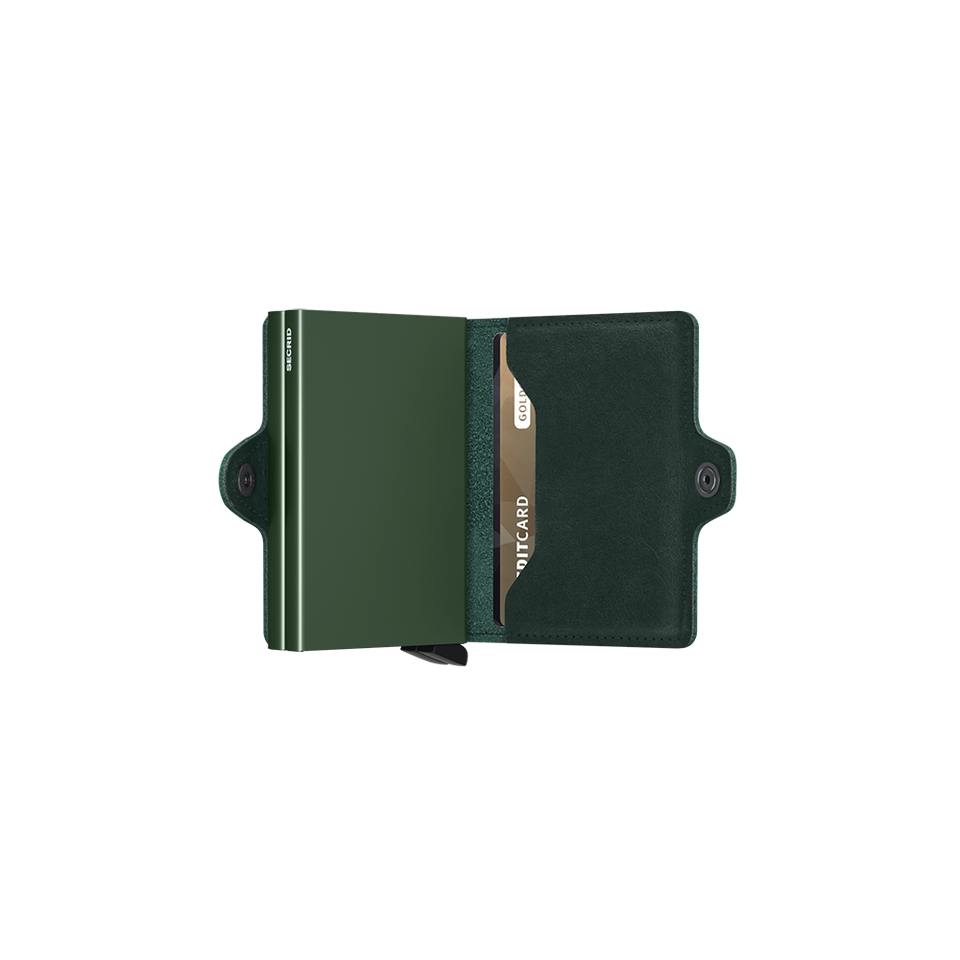 SECRID Twinwallet Leather - Original Green