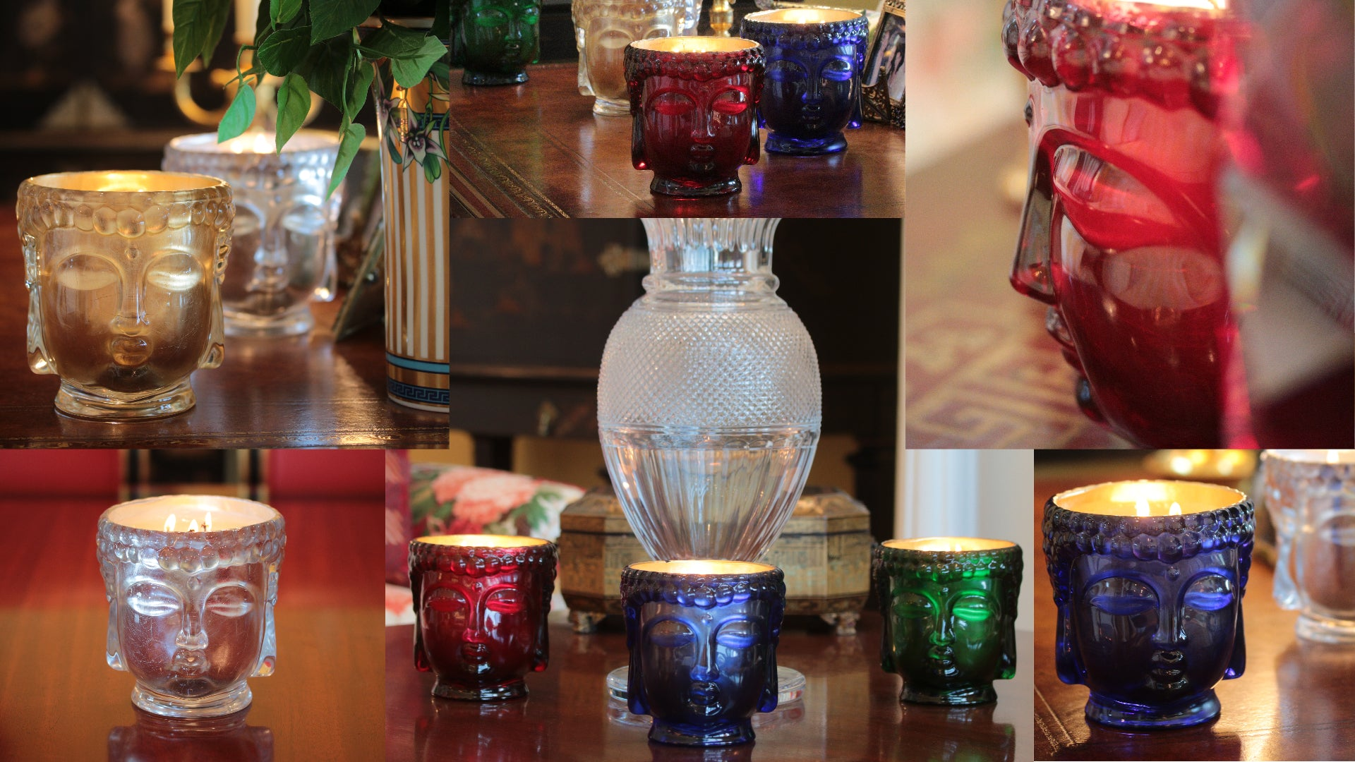 Thompson Ferrier Buddha Royale Glass Candle Collection