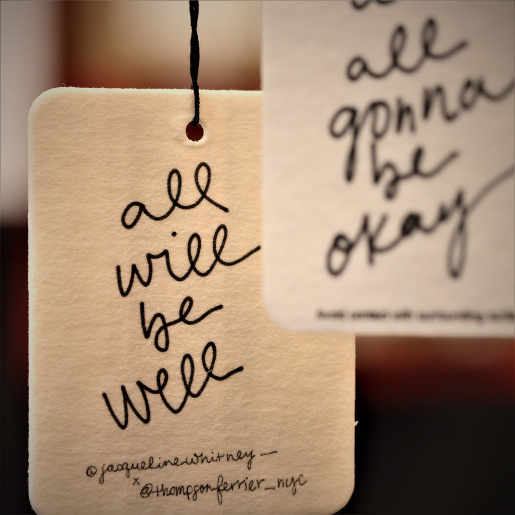 hanging inspirational scented air fresheners with quotes