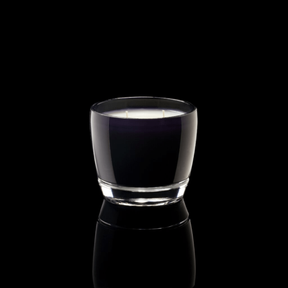 André Round Black Glass - Thompson Ferrier