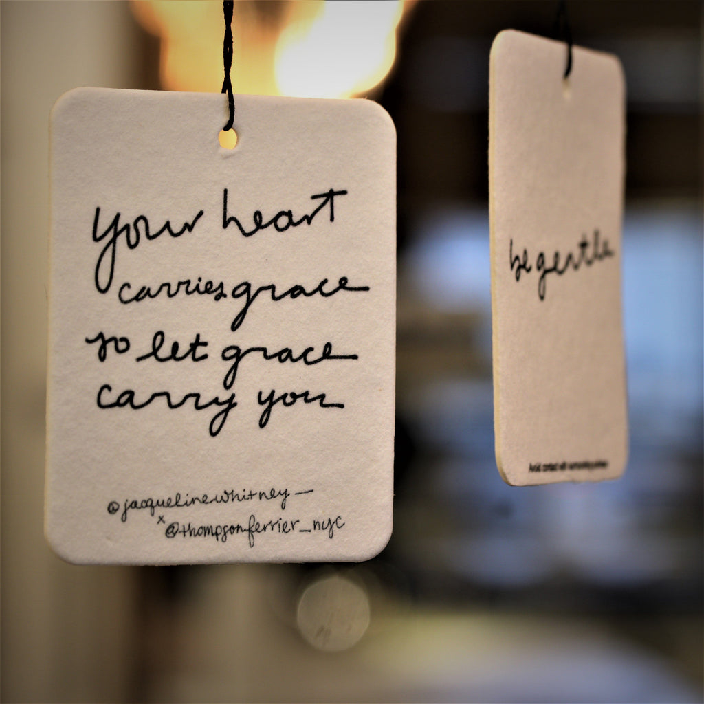 Your Heart Carries Grace - Mobile Fragrance - Thompson Ferrier