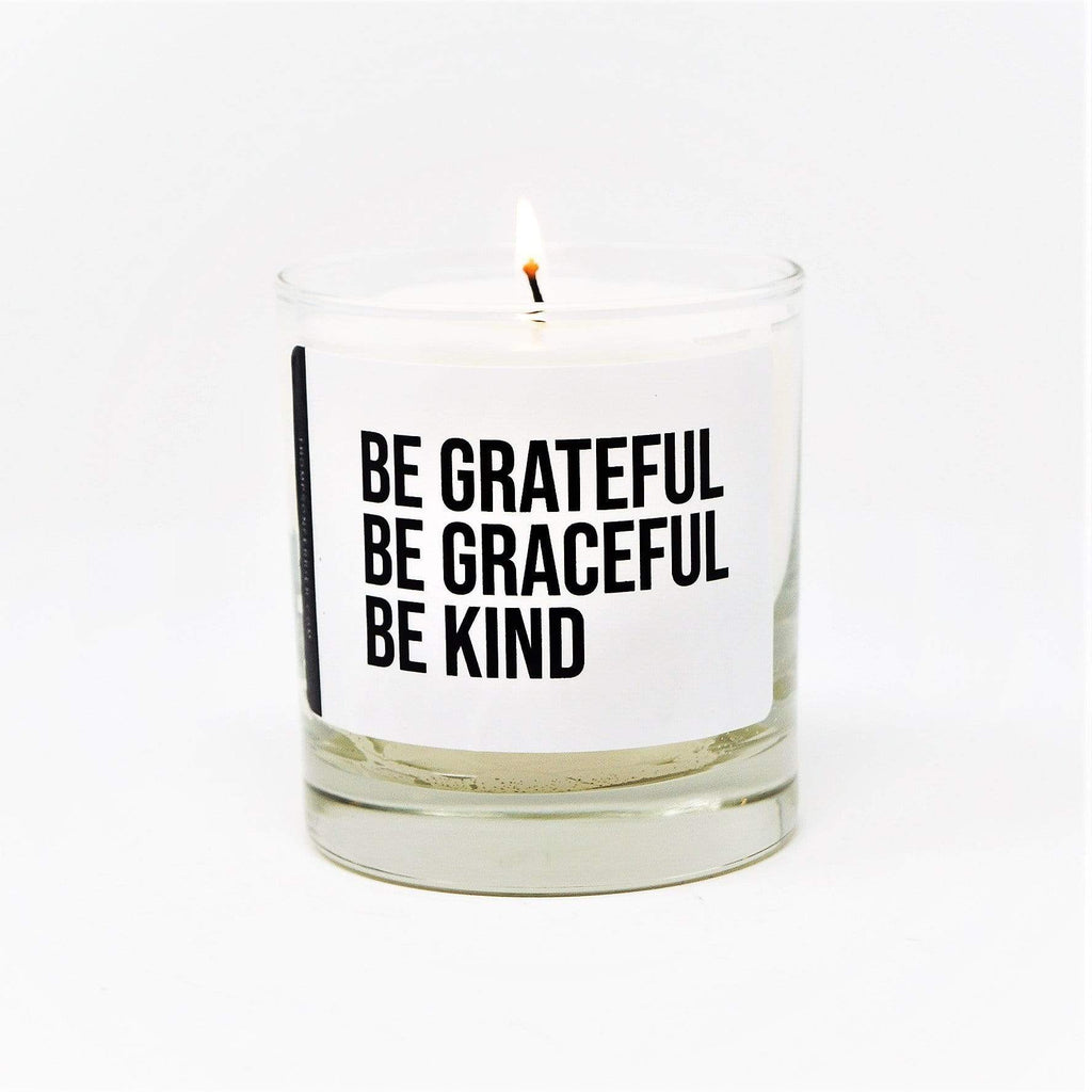 Thompson Ferrier Be Grateful Be Graceful Be Kind candle
