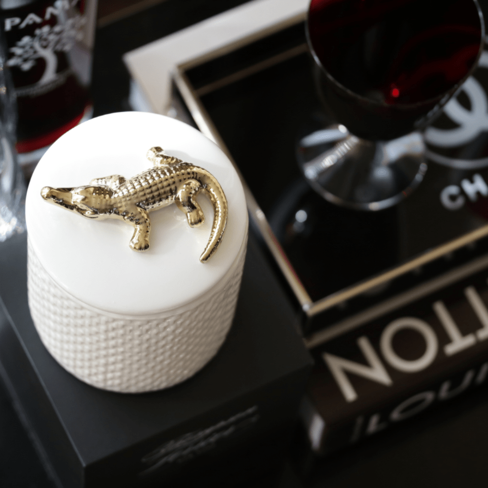 Decorative scented candle croco collection - Thompson Ferrier