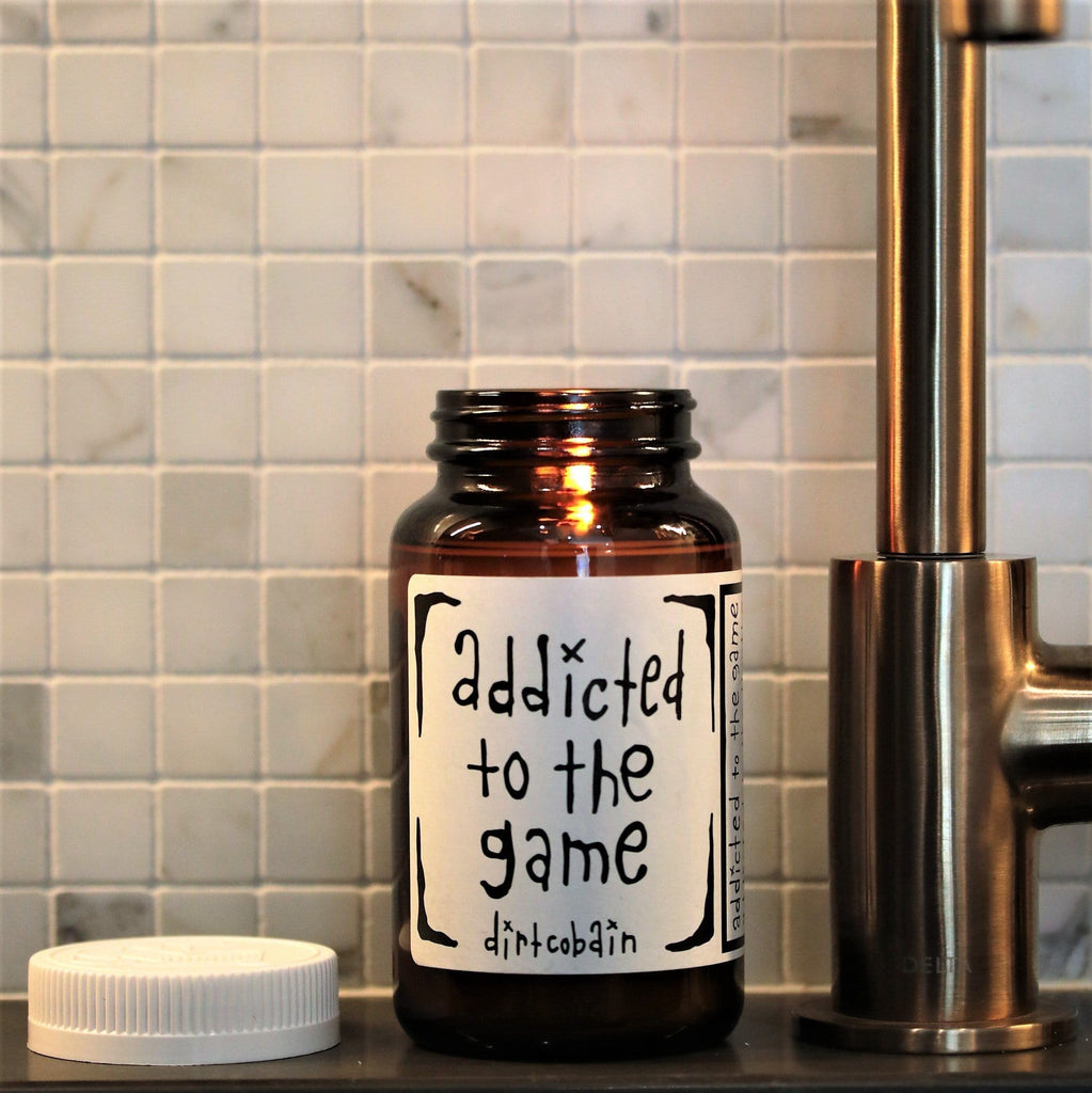 """addicted to life"" Candle Collection by Dirt Cobain (set of 5) - Thompson Ferrier"