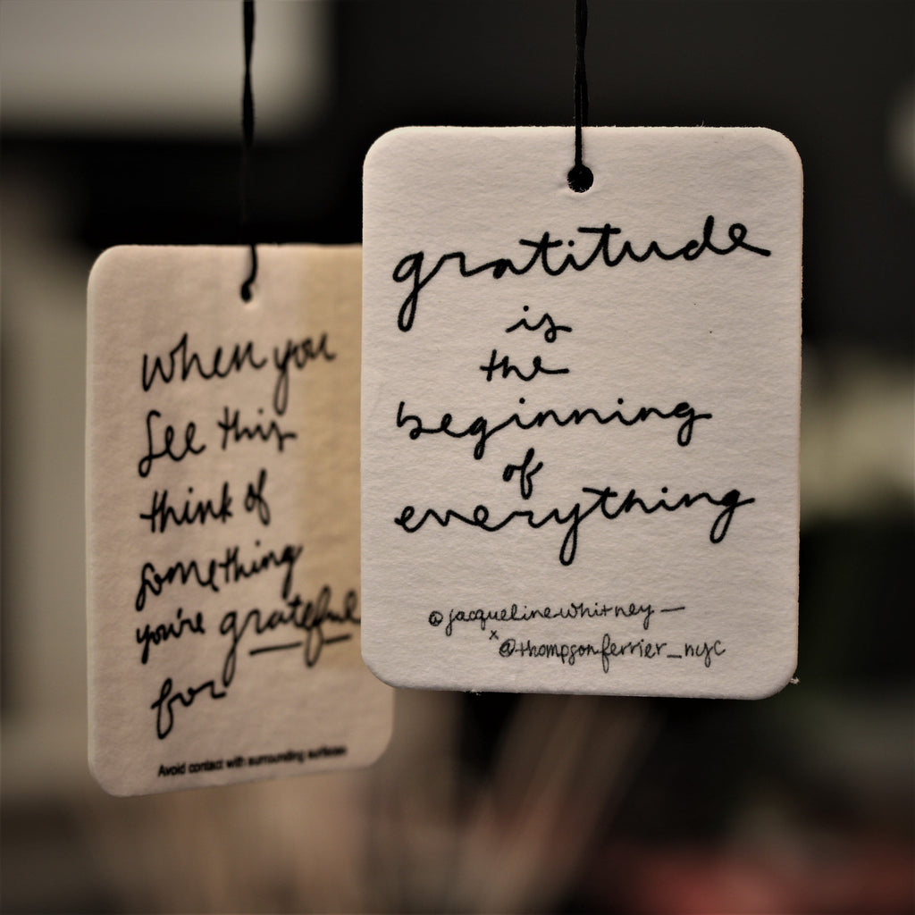 Thompson Ferrier Gratitude is the Beginning of Everything - Mobile Fragrance