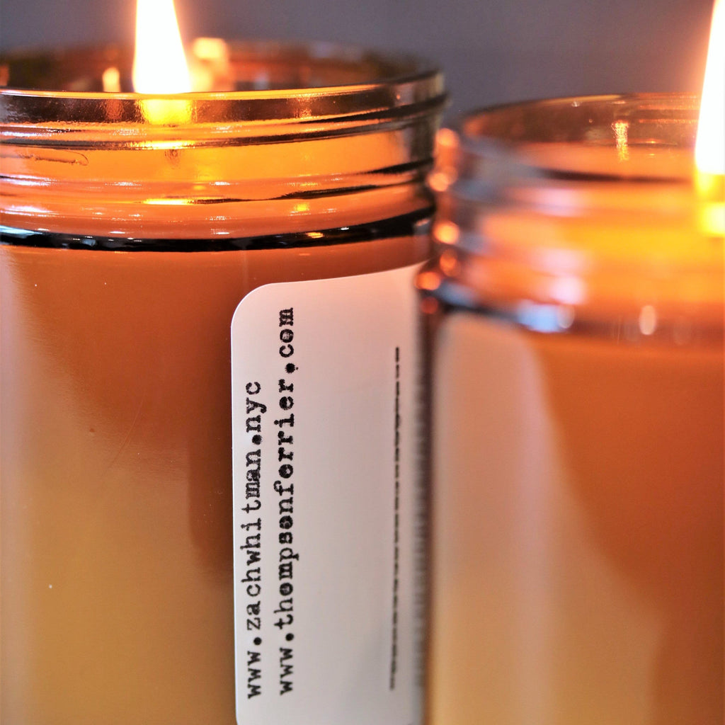 Zach Whitman's Change Poetry Scented Candle - Thompson Ferrier