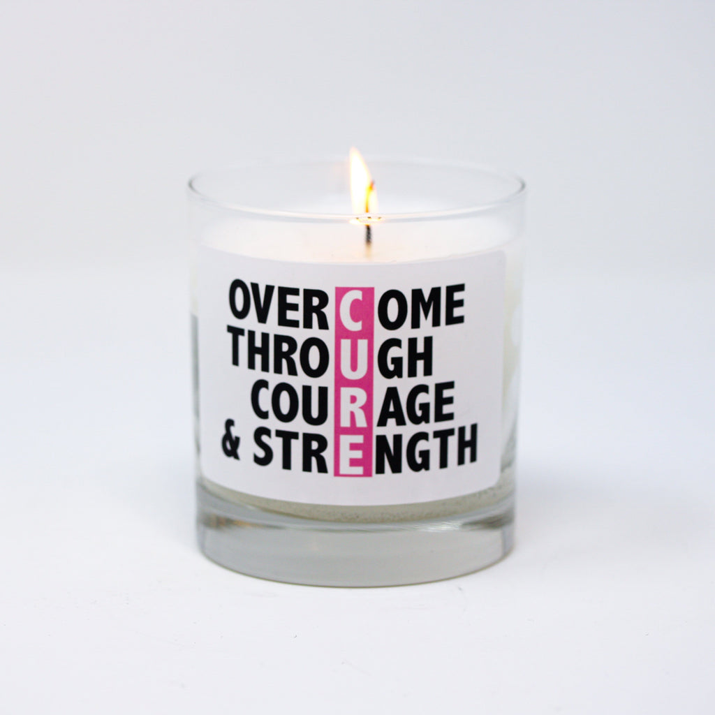 CURE - Overcome Through Courage & Strength - Thompson Ferrier